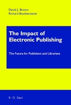 The Impact of Electronic Publishing, ed. , v.