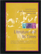 Literature and Its Times Supplement 1, ed. , v.