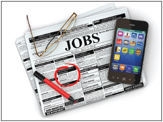 Job searching in the 21st century can incorporate both old-school and more tech-savvy methods.