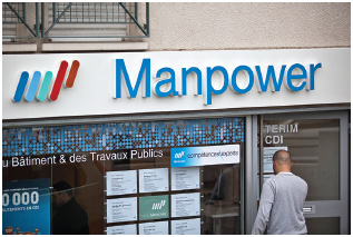 Manpower is one of several temporary employment agencies with offices worldwide.