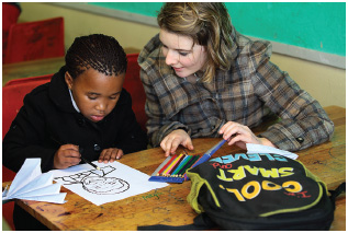 Volunteer activities, like tutoring, are one way of gaining valuable, transferable skills.