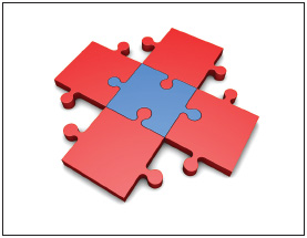 Your career path might feel like a giant puzzle to you, but take the time to figure out your role on your current team and within the company.
