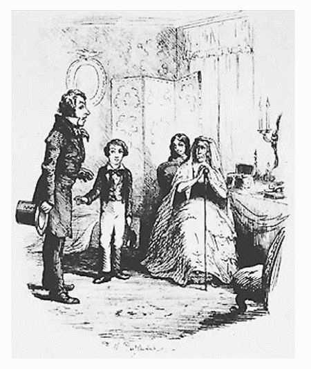 Illustration by Frederic W. Pailthorpe from Great Expectations by Charles Dickens