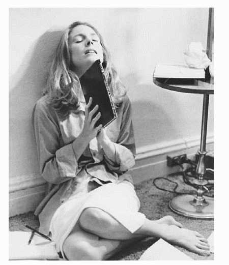 A scene from a film production of The Bell Jar, based on the novel by Sylvia Plath