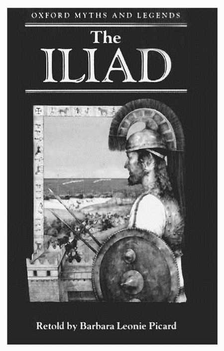 Cover of The Iliad by Homer