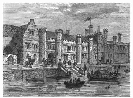 Greenwich Palace, where William Shakespeare presented plays to Queen Elizabeth I