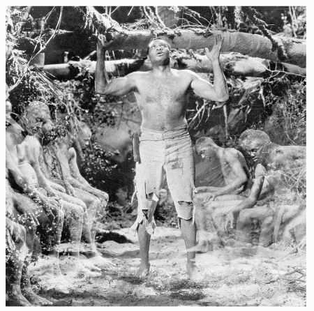 Paul Robeson as Brutus Jones from the film The Emperor Jones, written by Eugene ONeill