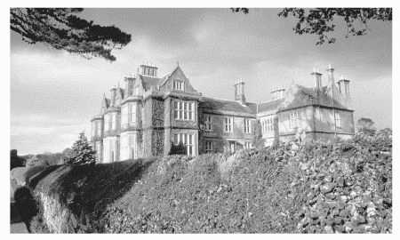 Muckross House in Killarney, Ireland, is a fine example of gothic architecture