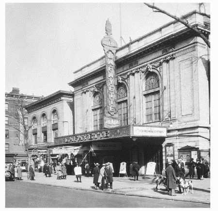 The Lafayette Theatre in Harlem