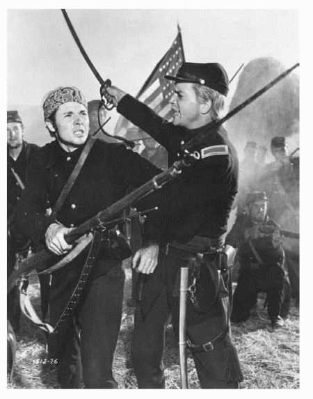1951 film version of the Red Badge of Courage, written by Stephen Crane and set during the Civil War