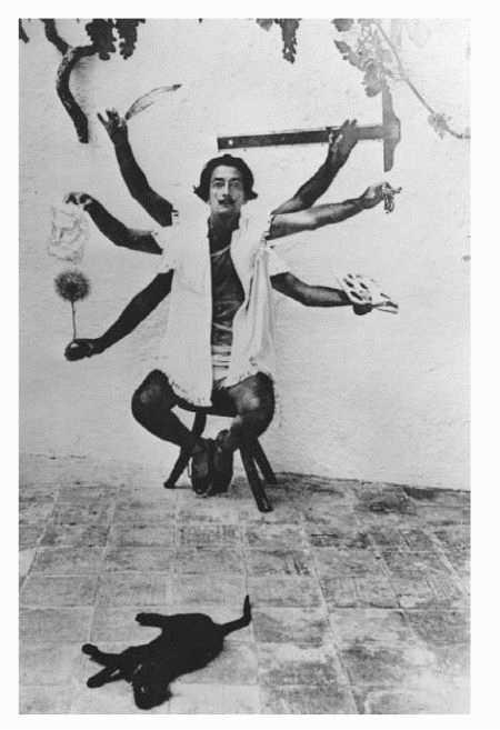 Surrealist painter Salvador Dali