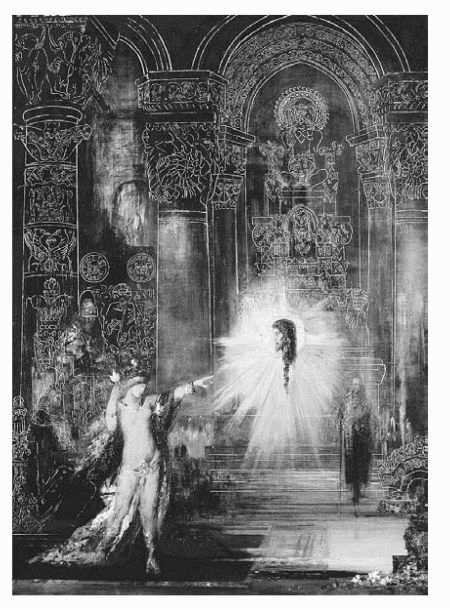 The Apparition, by Gustave Moreau, an important symbolist painter