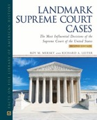 Landmark Supreme Court Cases, ed. 2, v.