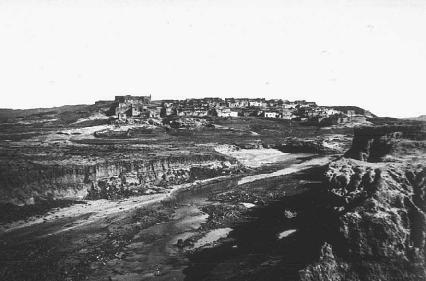 General view of the Laguna Pueblo, New Mexico