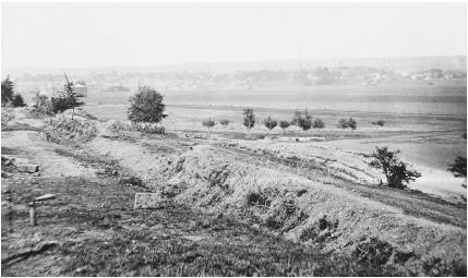 Landscape after the Battle of Fredericksburg
