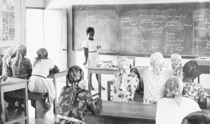A European school in Kenya c. 19601970