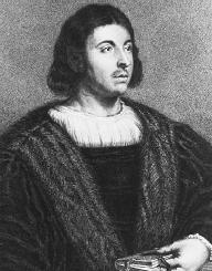 Giovanni Boccaccio. Reproduced by permission of the Library of Congress.