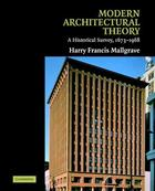 Modern Architectural Theory, ed. , v.