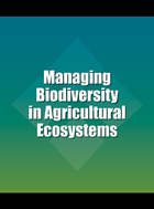 Managing Biodiversity in Agricultural Ecosystems, ed. , v.