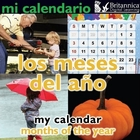 Mi calendario: Los meses del año (My Calendar: Months of the Year), ed. , v.