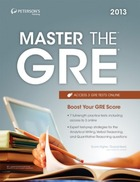Peterson's Master the GRE® 2013