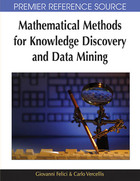 Mathematical Methods for Knowledge Discovery and Data Mining, ed. , v.