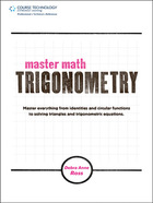 Master Math: Trigonometry, ed. , v.