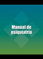 Manual de psiquiatría, ed. 2