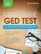 Peterson's Master the GED® Test 2014, ed. 28, v.