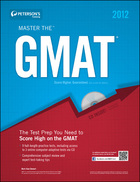 Peterson's Master the GMAT 2012, ed. 18