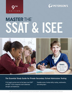 Master the SSAT® & ISEE®, ed. 9