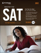 Peterson's Master the SAT® 2012