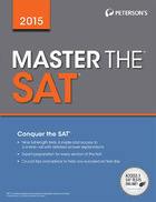 Peterson's Master the SAT® 2015