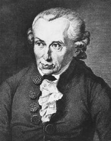 Immanuel Kant. (Archive Photos)