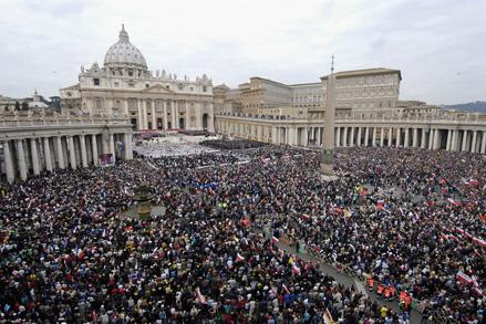 John Paul II's Funeral Mass.