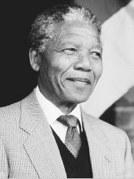 Nelson Mandela. Mandela was elected South Africas first black president in 1994 after having spent over twenty years in prison. A well-known political activist, Mandela was arrested in 1962 and charged shortly thereafter with sabotage and consp