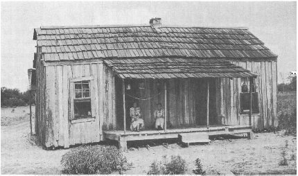 Sharecroppers house, Memphis, Tennessee, 1937.