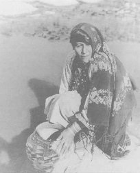 Woman of the Laguna Pueblo.