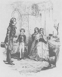 Illustration by Frederic W Pailthorpe, from Charles Dickens Great Expectations.