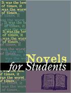 Novels for Students, ed. , v. 13