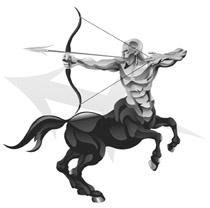 A centaur appears near the end of the novel