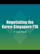 Negotiating the Korea-Singapore FTA