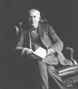 Thomas Edison was one of the most prolific inventors of the 20th century with over 300 patents for his electronic inventions, including the incandescent light bulb, the phonograph, and motion picture technology.