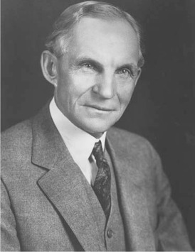 Henry Ford was a pioneer of the auto industry, inventing an affordable car, the Model T, and an assembly line to produce them on a mass scale.