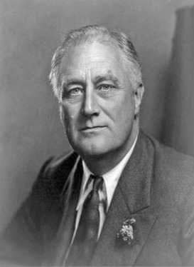 Franklin D. Roosevelt served an unprecedented three terms as president of the United States, from 1932 to 1945, helping to bring the nation out of the Great Depression and achieve victory in World War II.