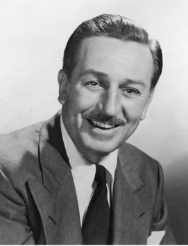 Creator of Mickey Mouse, Walt Disney achieved preeminence in movies and television and revolutionized the leisure industry with his theme park, Disneyland, which opened in 1955.