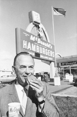 Ray Kroc opened his first McDonalds restaurant in Illinois in 1955. Today there are 33,000 McDonalds restaurants in 119 countries around the world.