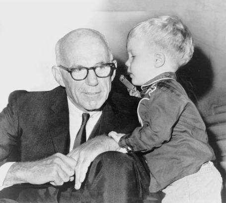 Dr. Benjamin Spocks Common Sense Book of Baby and Child Care in 1946 became the Bible of American child rearing.