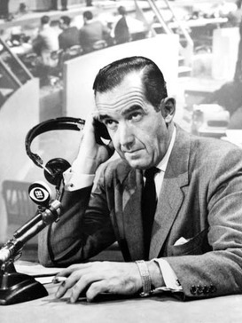 Edward R. Murrow was one of the most highly respected journalists in broadcast history, both on radio and on television.