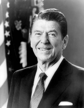 Ronald Reagan was president of the United States for two terms from 1981 to 1989, reviving the American economy and the reputation of the Republican party after Nixon.